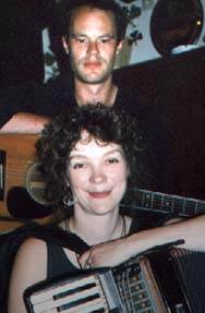 Ian Carr and Karen Tweed; photo by The Mollis