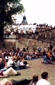 Rudolstadt Festival 2000; photo by The Mollis
