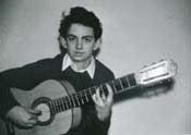 Andy Irvine ca. 1959; photo from www.andyirvine.com
