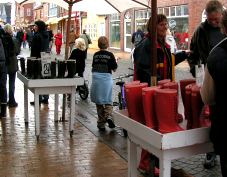 Wellies for sale, photo by The Mollies